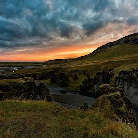 Fjaorarglufur Canyon, Iceland by Ketan Vikamsey - Landscapes Sunsets & Sunrises ( canonusa, kvkliks, ketanvikamsey, igerslandscape, travelawesome, guidetoiceland, longexpoelite, photographers_of_india, icelandair, picoftheday. photosergereview, fjaorargljufurcanyon, lonelyplanet, natgeohd, dpeginsta, nisifilter, natgeoyourshot, photoftheday, icelandencounter, traveltheworldpix, landscape_captures, lc_india, bbctravels, inspiringiceland, travelgram, natgeotravel, dslrofficial, lonelyplanetmagazineindia, natgeo, landscapephotography, canon5dmarkiv, canonphotography, longexposure, natgeotravelpic, phodus_competition, kliksubmit )