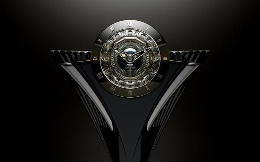 SYMPHONIE Luxury Clock Widget Aplicaciones para Android screenshot