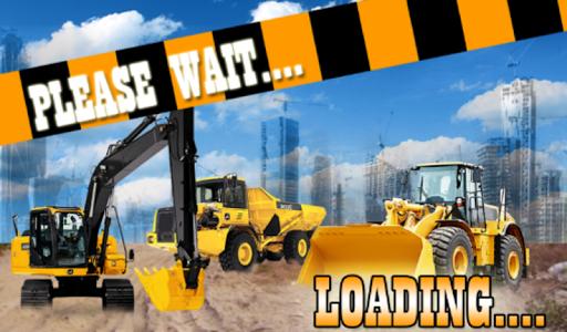Heavy Excavator Sim Crane 3D