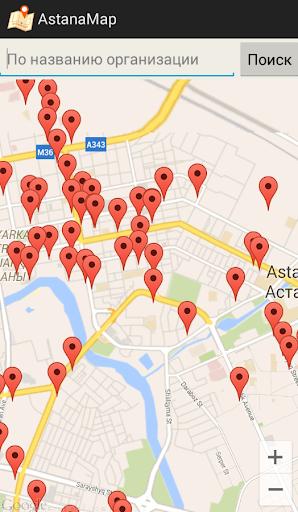 Карта Астаны - AstanaMap