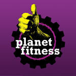 Planet Fitness Icon