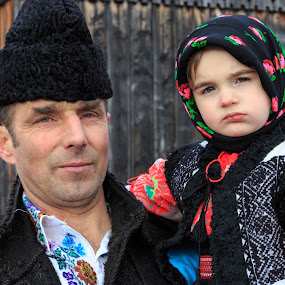 by George Marcu - People Family ( grandpa, tradition, romania, bucovina,  )