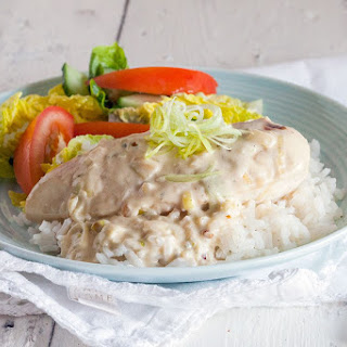 Chicken with Boursin Sauce Recipe
