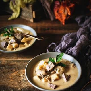 Steak and Potato Soup Recipe