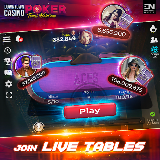 Free Poker Games : Downtown Casino - Texas Holdem  screenshots 7