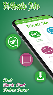 WhatsMe & Whats tool for open chat App Download For Android 1