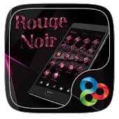 Rouge Noir Go Launcher Theme