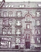 Photo: Frederiksvej 25, Frederiksberg, hvor Harald Kidde boede fra 1898 til 1901.   Foto 1969, Frederiksbergs Kommunes Biblioteker.