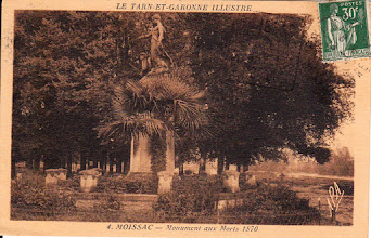 Photo: Moissac (82) - Carte adressée à Melle DUMOULIN l'Aquitaine Route de Toulouse Bègles Gironde
