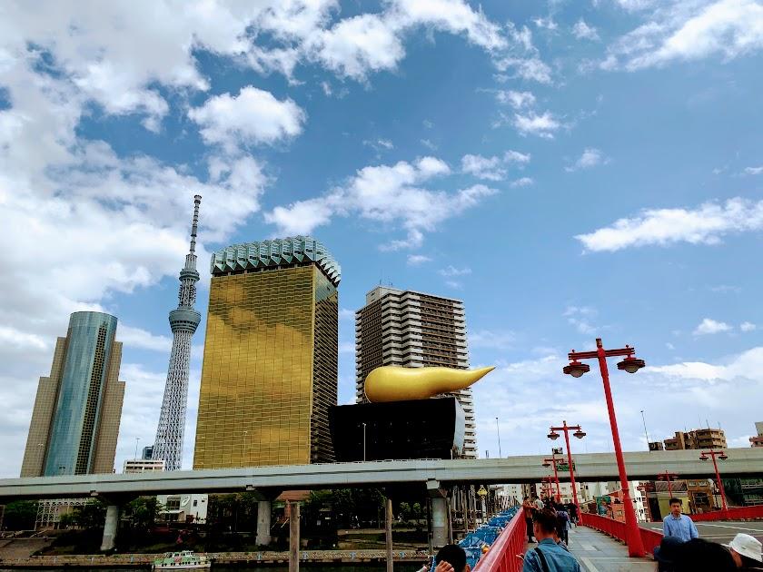 墨田区吾妻橋の風景