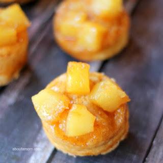 15-Minute Mini Pineapple Upside Down Cakes