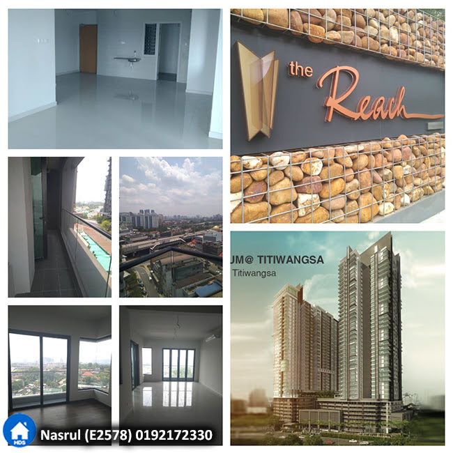 Kondominium The REACH @ Titiwangsa