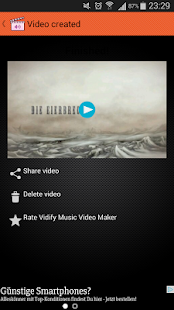 Vidify Music Video Maker- screenshot thumbnail