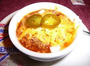 Lone Star Steakhouse Chili: Recipe