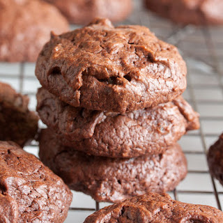Chewy Chocolate Ginger Cookies.