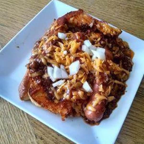 Chili Cheese Dog Casserole Recipe