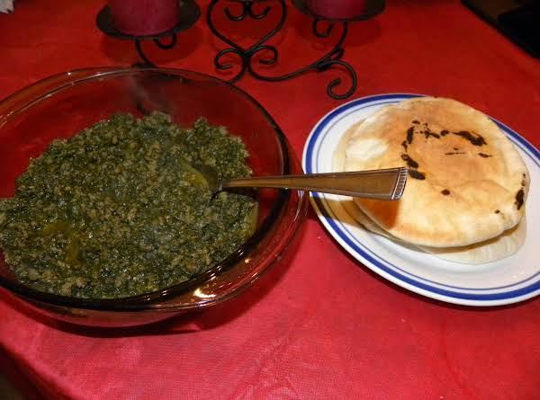 Sabanegh - Spinach Recipe
