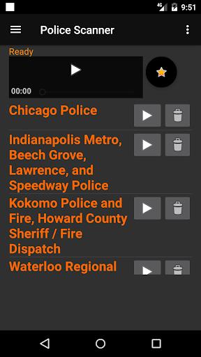 GRATIS Radio de la Policía screenshot 5