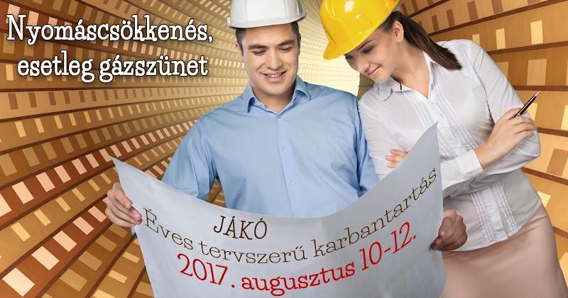 Gázszünet 2017.08.10