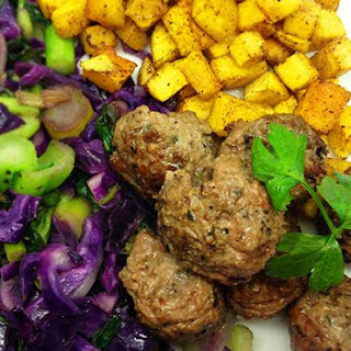 Cumin & Mint Lamb Meatballs