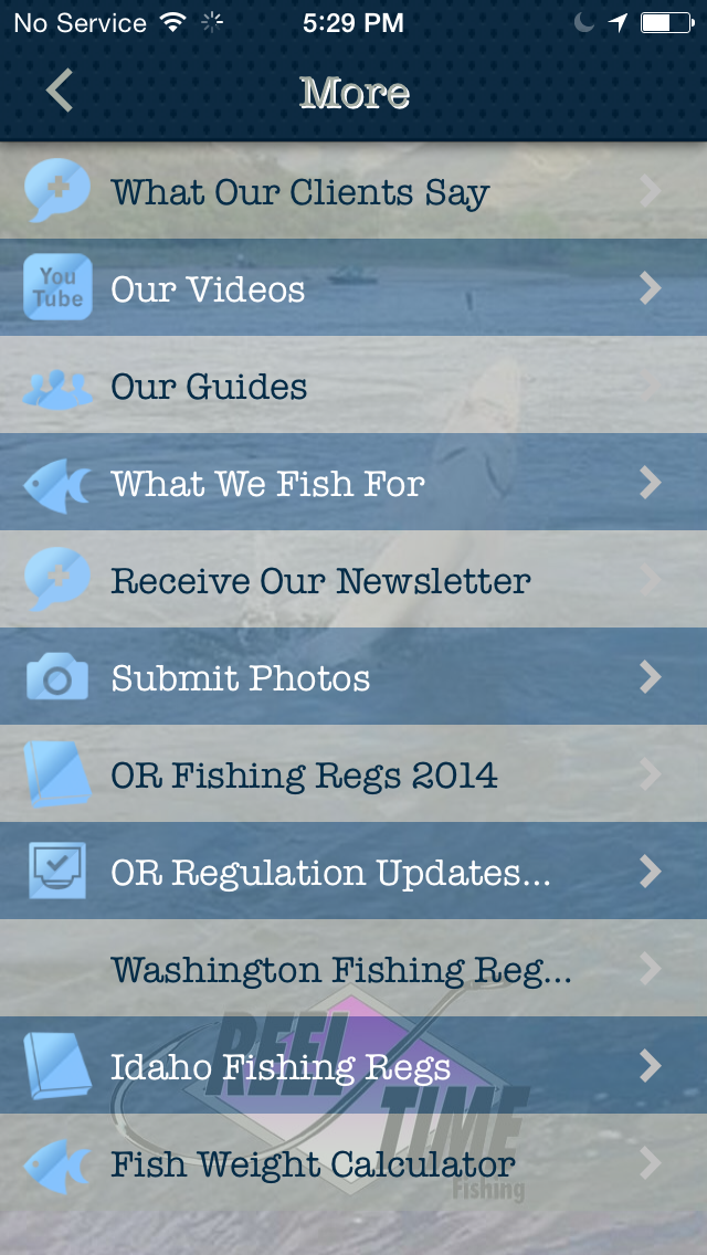 Скриншот Reel Time Fishing