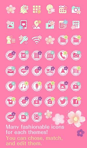 Cute Theme-Flowers and Circles 1.0.1 Windows u7528 4