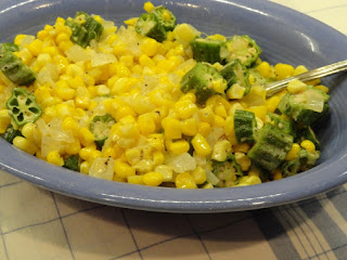 Falling In Love With Okra And Corn! Recipe