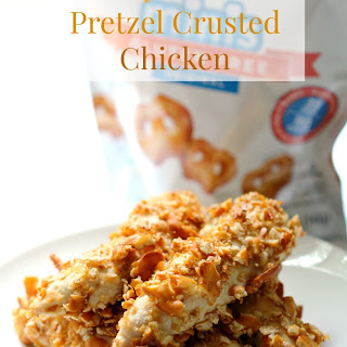 Honey Mustard Pretzel Crusted Chicken