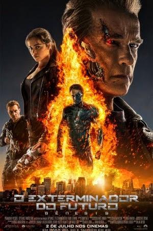 Filme Poster O Exterminador do Futuro - Gênesis CAM XviD & RMVB Dublado