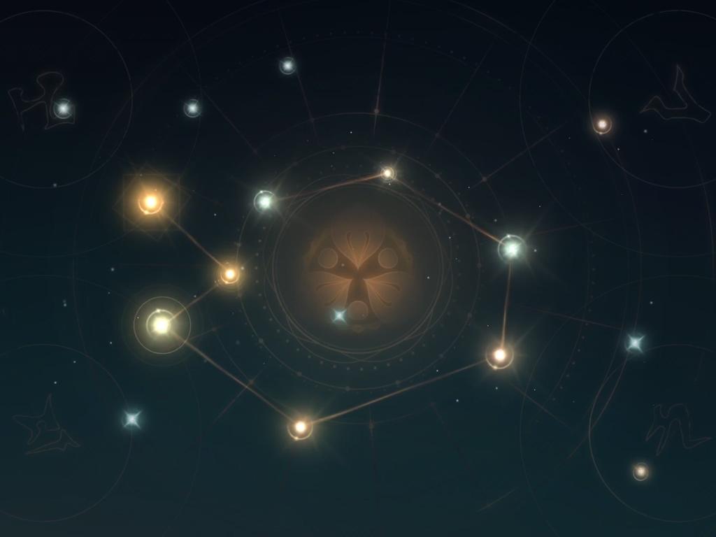 緊那羅-神秘的な図案