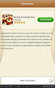 Recetas de España - náhled