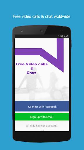 無料ビデオ通話とチャット