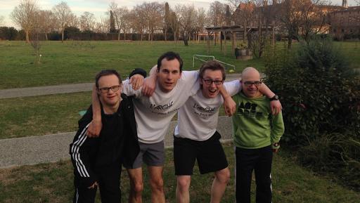 L'Arche en Pays Toulousain au semi-marathon de Blagnac 2015