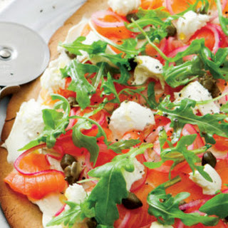Smoked Salmon Pizza from Rena Patten