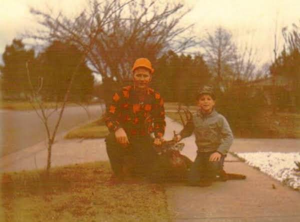 Charles And Danny Francis With A Prize Buck.