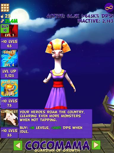 Tap Tap Infinity - Idle RPG 1.7.14 screenshots 9