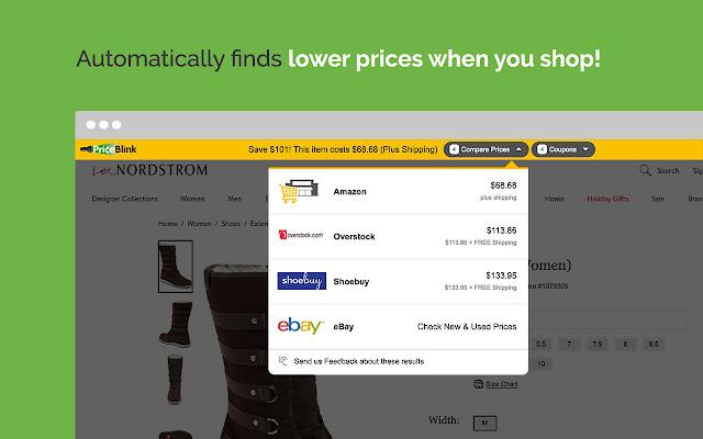 PriceBlink Lite - Coupons & Price Comparison