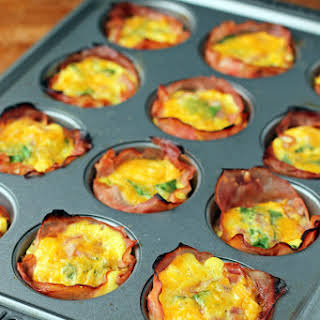 Ham and Cheese Egg Cups.