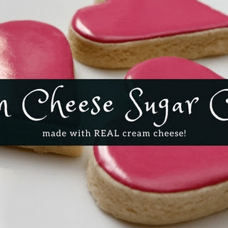 Perfect Cream Cheese Sugar Cookies.