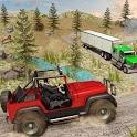 Offroad Jeep Prado Driving- Truck Driver Sim icon