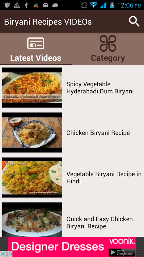 Biryani recipes videos android apps on google play biryani recipes videos screenshot forumfinder Image collections