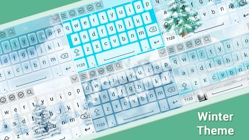 Winter Keyboard Theme