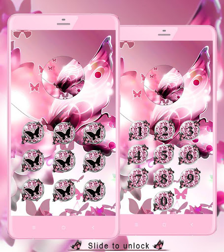Pink Butterfly Theme Wallpaper Apps On Google Play