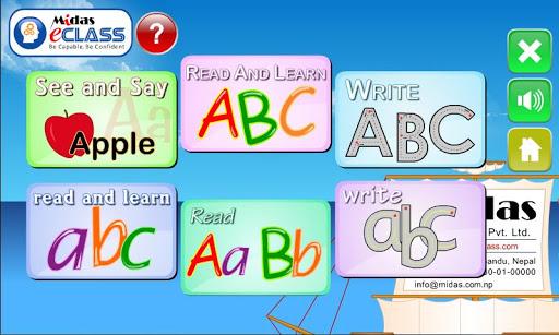 MiDas eCLASS Nursery English S