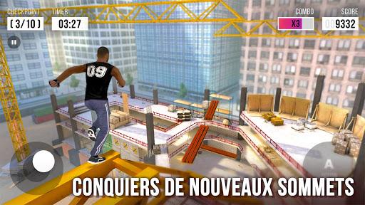 Parkour Simulator 3D - Trucs Extrêmes  captures d'écran 1