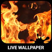 Burning Live Wallpaper