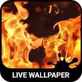 Burning Live Wallpaper