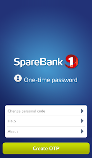 One time password (OTP)- screenshot thumbnail