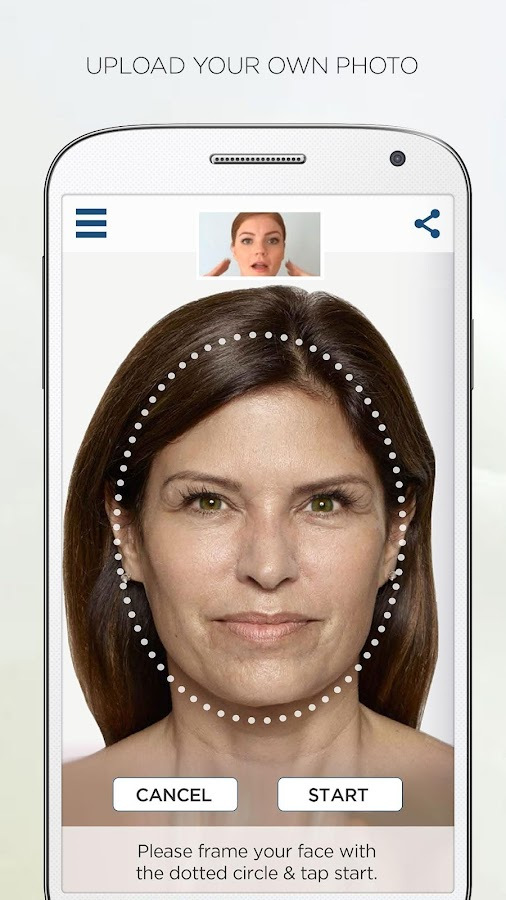 AGELESS Face Visualizer- screenshot