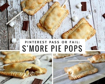 Pinterest Pass Or Fail: S'more Pie Pops Recipe